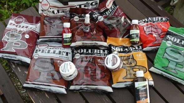 Steg bietet gute lösliche Boilies und vieles mehr für Karpfenangeln