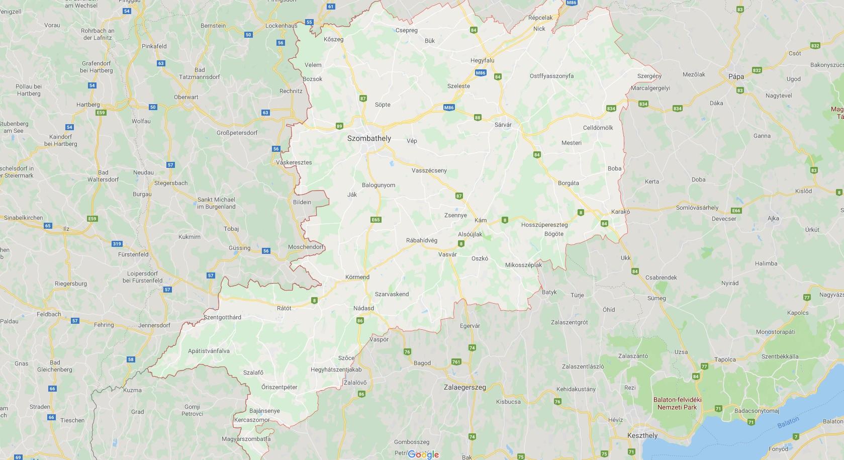 Meine Angelreviere im Komitat Vas in Ungarn