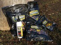Erste Tigernuss-Boilies und Produkte von SBS Baits gekauft