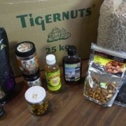Karpfenangeln mit Tigernüsse und nussige Boilies