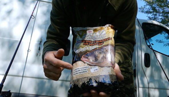 Grundfuttermischung für Silberkarpfen und Marmorkarpfen