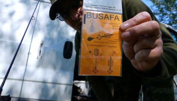 Montageanleitung für Busafa für Silberkarpfen